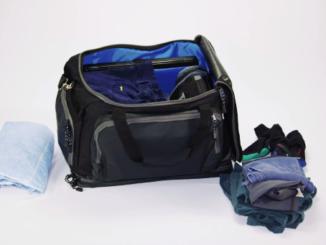 Duffel bag for truck drivers