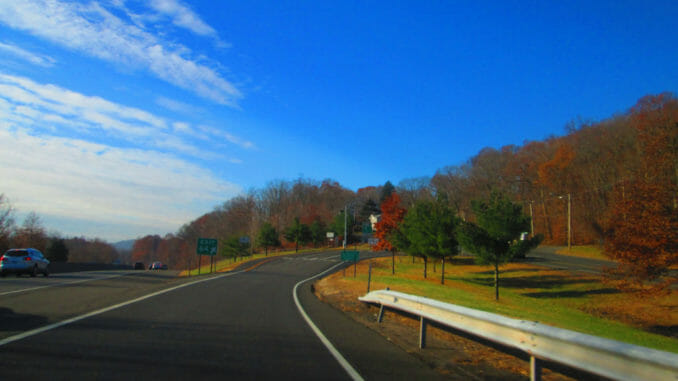 Connecticut under the deep blue sky