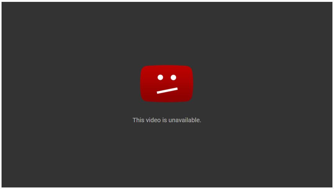 Broken YouTube Link