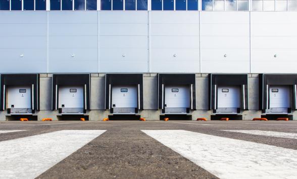 loading/unloading dock for truck drivers
