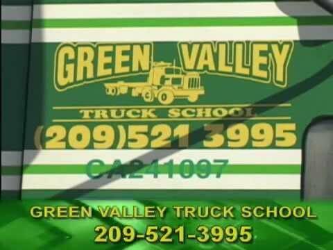Green Valley Trucking School Green Truck