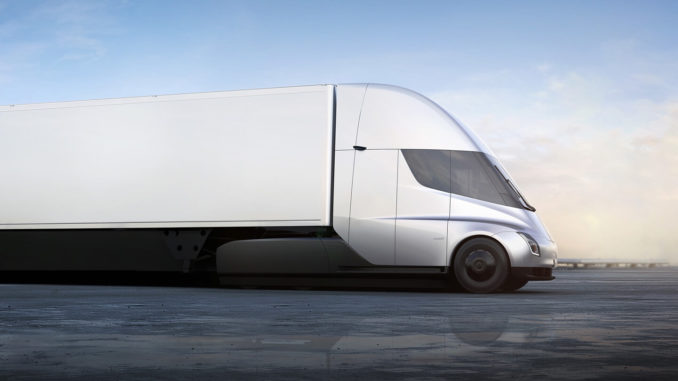 Tesla Semi-Truck for Class A drivers